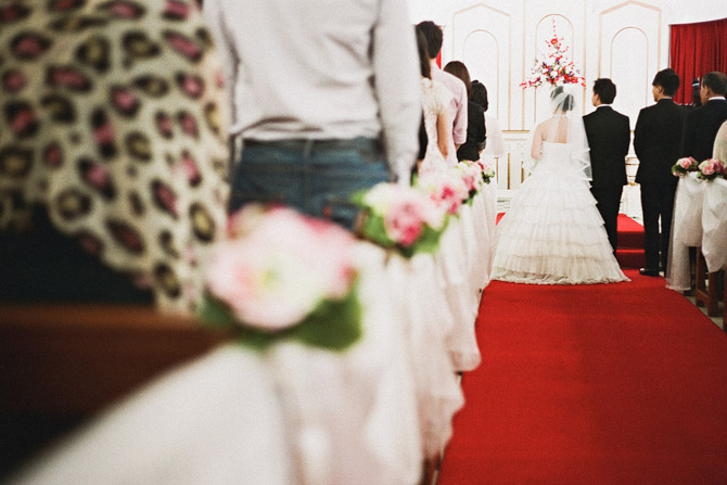 wedding at  KOWLOON UNION CHURCH