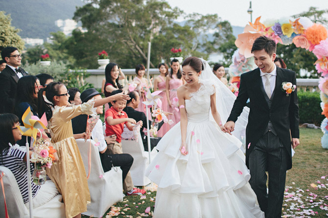 flower wedding hong kong