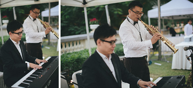 wedding band music jazz hong kong