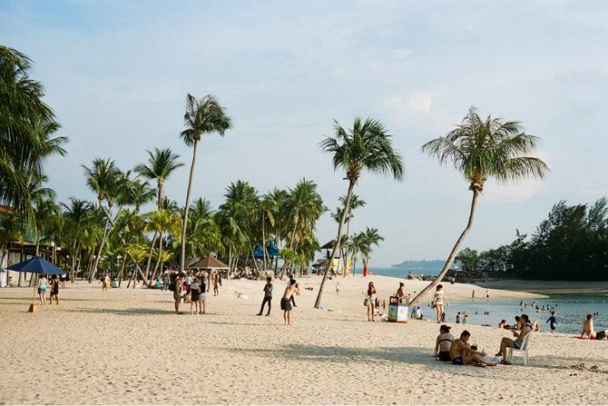 sentosa singapore siloso beach