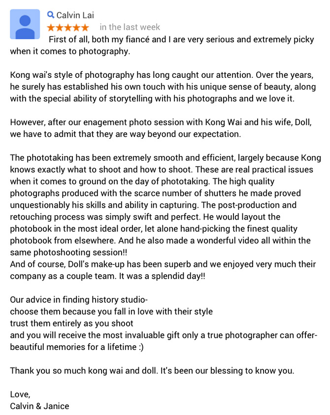 best-hong-kong-natural-wedding-photographer-review